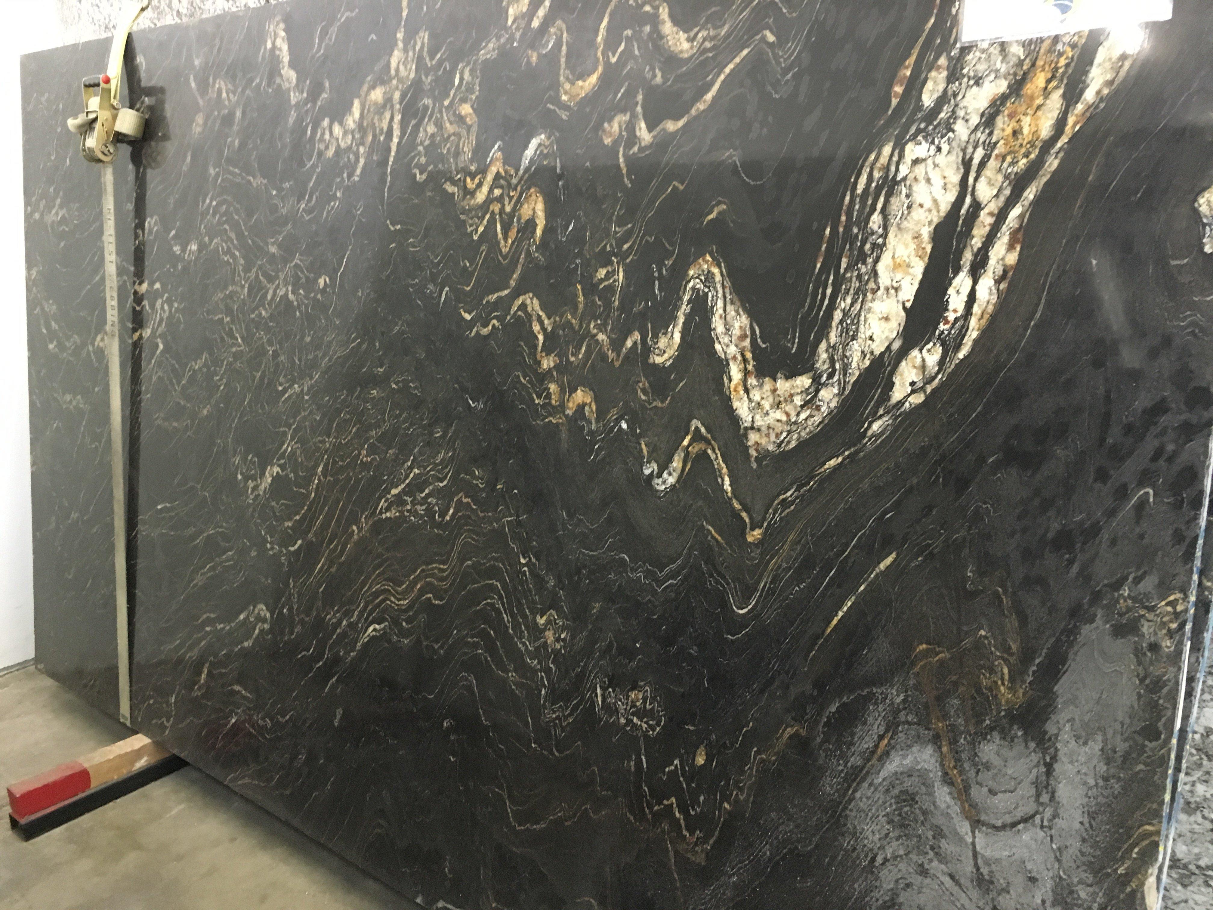 Titanium Polished Granite Slab   Trendy Surfaces