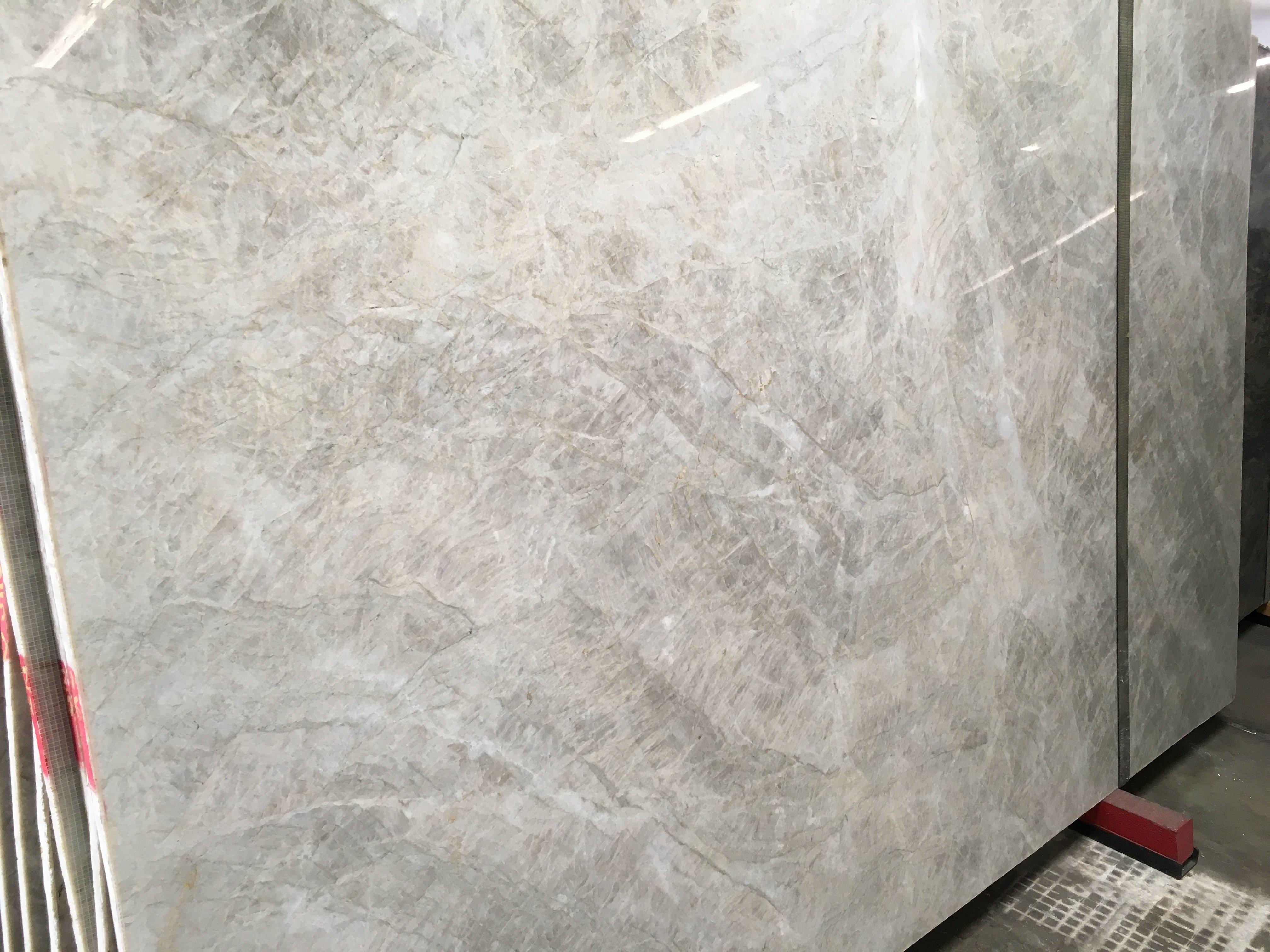 White Pearl Polished Quartzite Slab | Trendy Surfaces