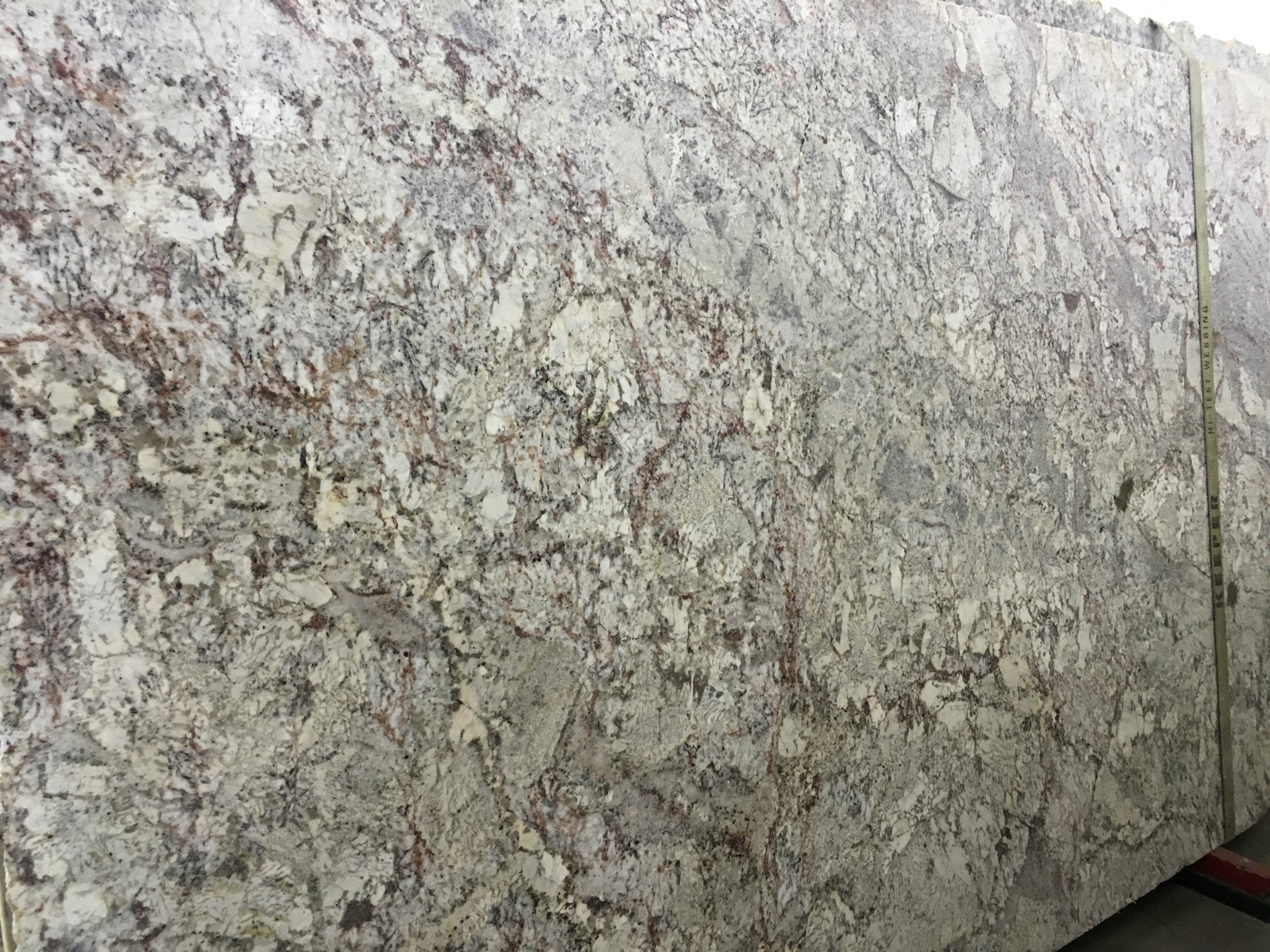 Charmant White Springs Leather Granite Slab