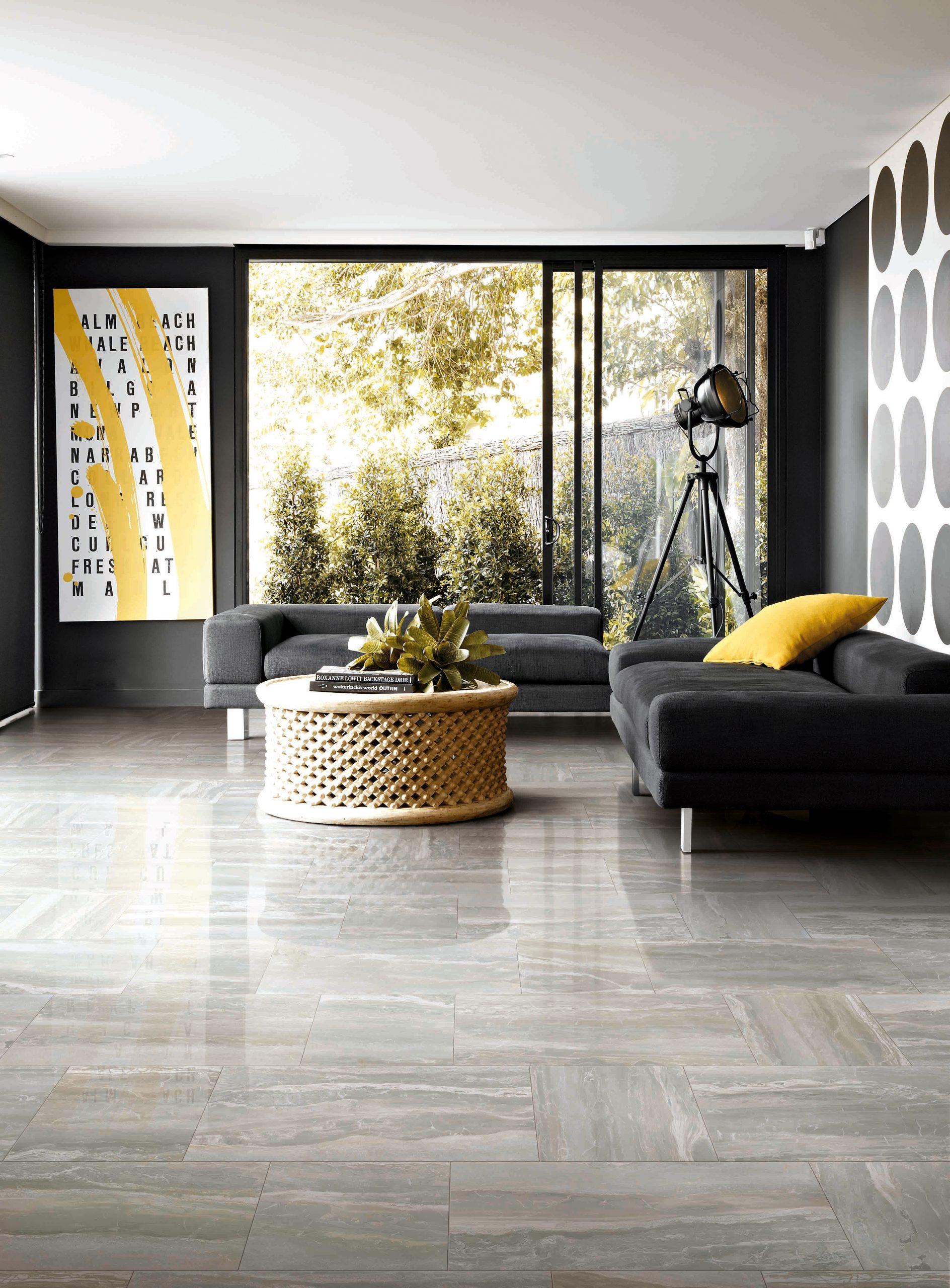 Ts1597017 Grigio Travertine 12 X24 Quot Porcelain Tile Matte